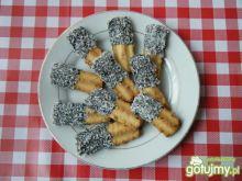 Kokosowe ciasteczka przez maszynkę