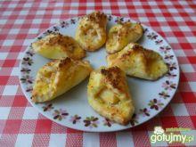 Kokosowe ciasteczka z jabłkami.