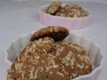 Kokosowe ciasteczka z melasą