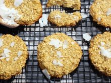 Kokosowe ciasteczka z płatkami amarantusa