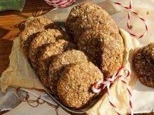 Kokosowe ciastka z brązowego ryżu