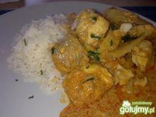 Kokosowe curry z ryby