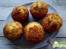 Kokosowe muffiny z jabłkiem