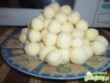Kokosowe pralinki.