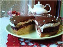 Koksowe ciasto z dżemem