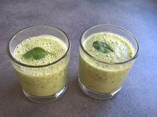 Koktajl aloesowy z kiwi, bananem i szpinakiem