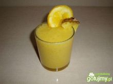 Koktajl ananas-pomarańcz