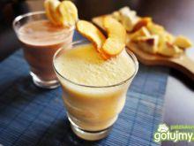 Koktajl bananowo-brzoskwiniowy