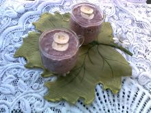 Koktajl bananowo-kakaowy