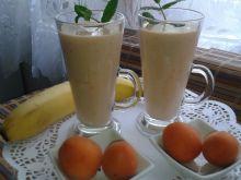 Koktajl bananowo - morelowy