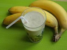 Koktajl bananowo-rabarbarowy