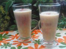 Koktajl bananowo - truskawkowy