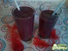 Koktajl borówkowo - jagodowy