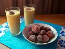 Koktajl brzoskwiniowo-bananowy z wkładką
