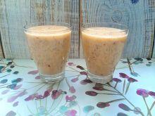 Koktajl brzoskwiniowy na napoju ryżowym