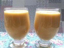 Koktajl dyniowy z gruszkami i miodem