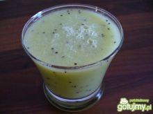 Koktajl gruszka-kiwi