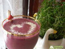 Koktajl mleczno-jagodowy