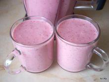 Koktajl mleczno - truskawkowy