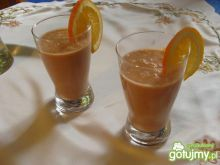 Koktajl pomarańczowo ananasowy