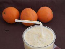 Koktajl pomarańczowo- kokosowy
