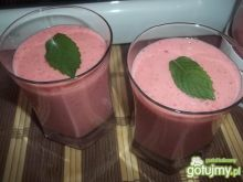 Koktajl rabarbarowo-truskawkowy