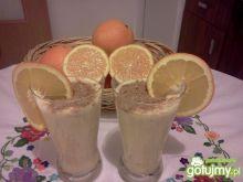 Koktajl z dodatkiem pomarańcza