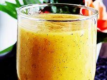 Koktajl z kiwi, ananasa, pomarańcza