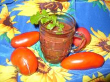 Koktajl z pomidorów z rukolą