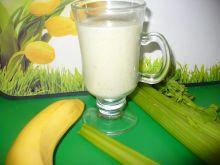 Koktajl z  selera naciowego z bananem