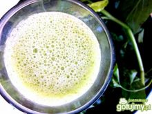 Koktajl zielony z ananasem