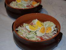 Kolorowa i zdrowa sałatka