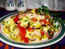 Kolorowa jajecznica