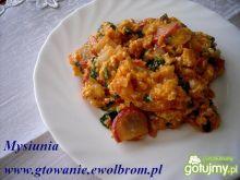 Kolorowa jajecznica z warzywami