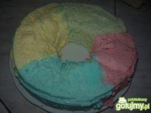 Kolorowa pianka mleczna