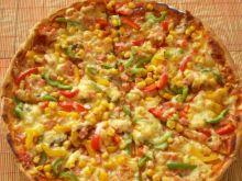 Kolorowa pizza Pyzy