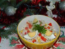 Kolorowa sałatka Bożonarodzeniowa