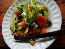 Kolorowa sałatka dietetyczna