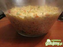 Kolorowa sałatka jarzynowa wg Joli