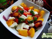Kolorowa sałatka pomidorowa
