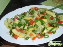 Kolorowa sałatka z cukini wg gosia56