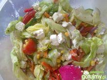 Kolorowa sałatka z fetą wg Triss
