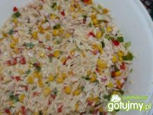 kolorowa sałatka z makaronu