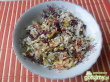 Kolorowa surówka z mieszanych warzyw