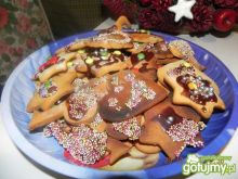 Kolorowe ciasteczka z miodem