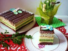 Kolorowe ciasto z serem