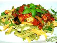 Kolorowe danie z Makaronem
