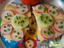 Kolorowe kanapeczki dla najmłodszych :)