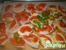 Kolorowe kanapeczki na bagietkach