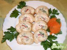 Kolorowe kanapki z bagietki